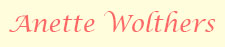 Anette Wolthers Logo